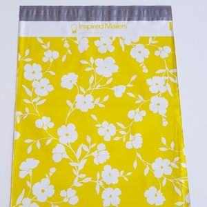 """25 pcs Daisy Poly Mailers 12.5""""x15.5"""" inch 3.15 mm"""